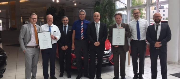 15 Jahre Honda Partner