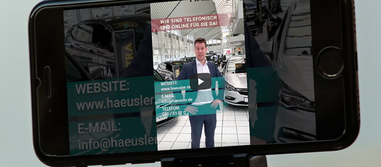 Online Fahrzeugverkauf