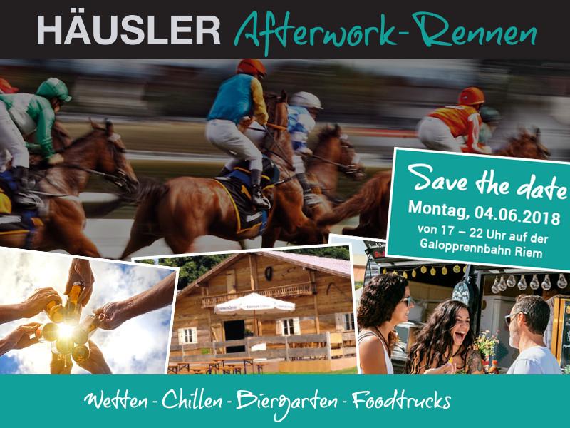 Häusler Afterwork-Pferderennen am Montag den 04.06.2018