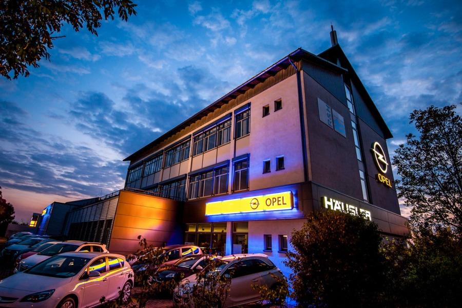 Opel Standort Feldkirchen