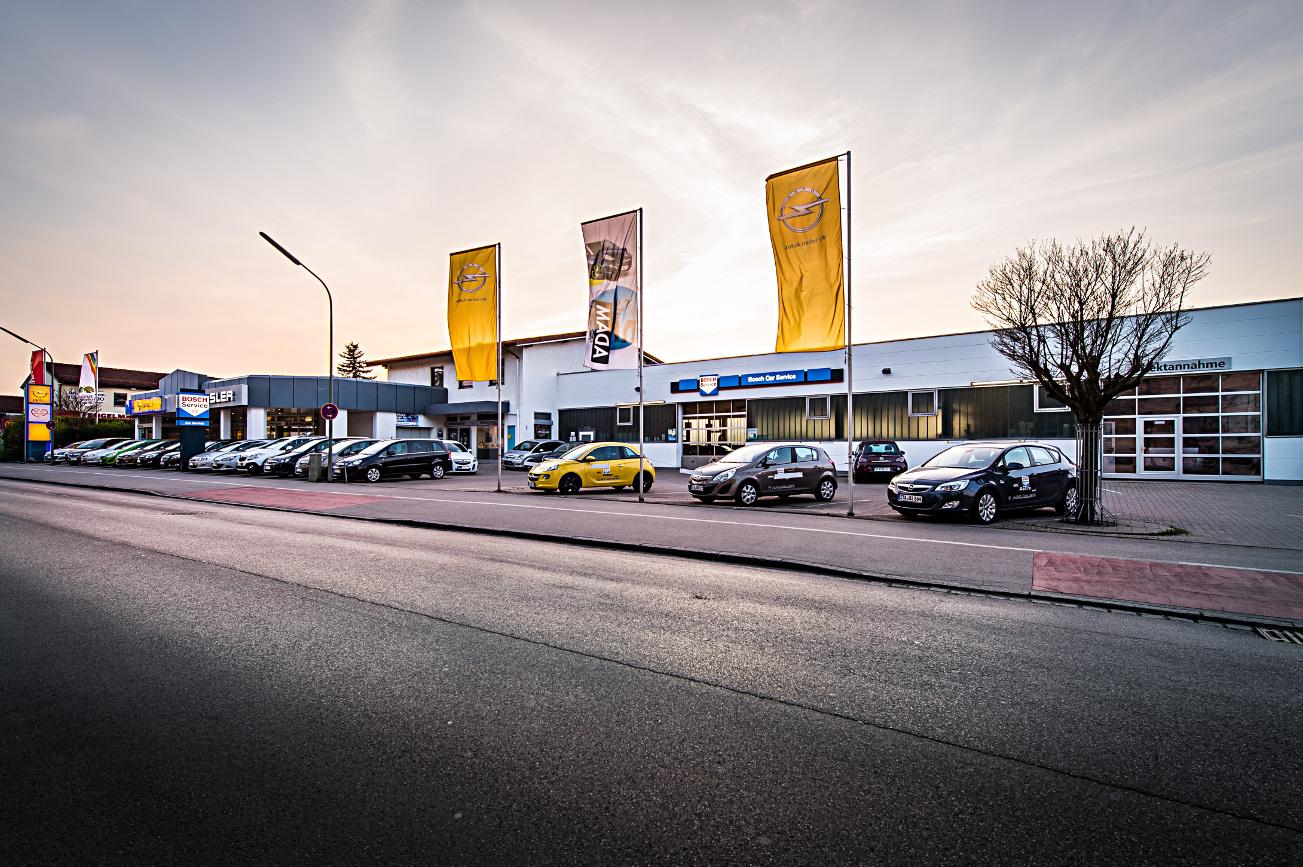 Opel Standort Gröbenzell