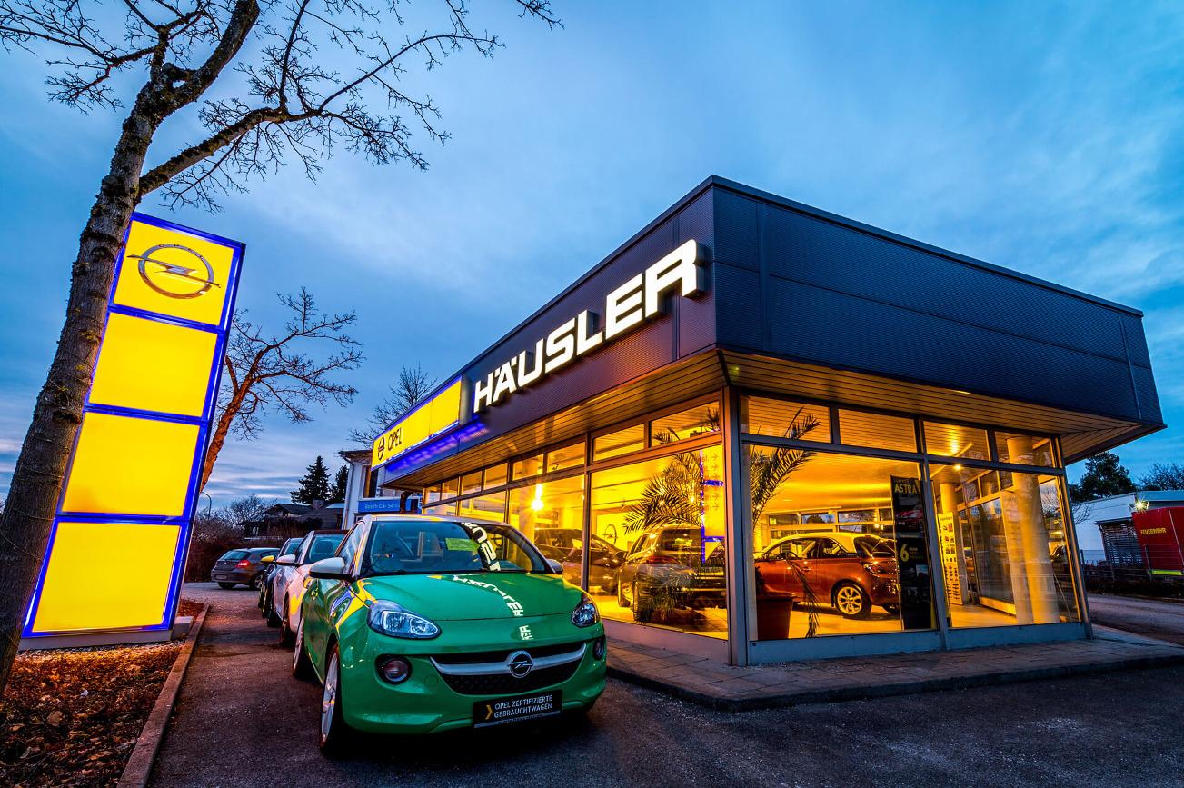 Opel Standort Neubiberg