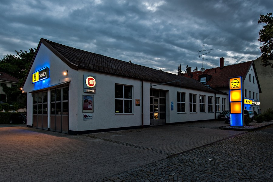 Opel Standort Nymphenburg