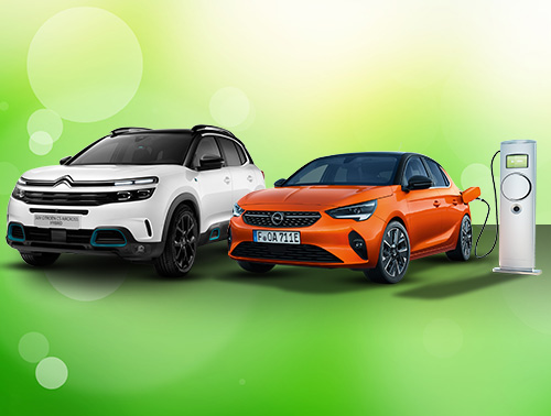 Elektro- und Hybridfahrzeuge