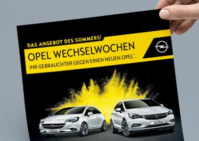 Opel Wechselwochen