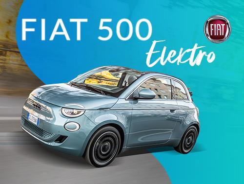 Fiat 500 Elektro: Jetzt günstig leasen!