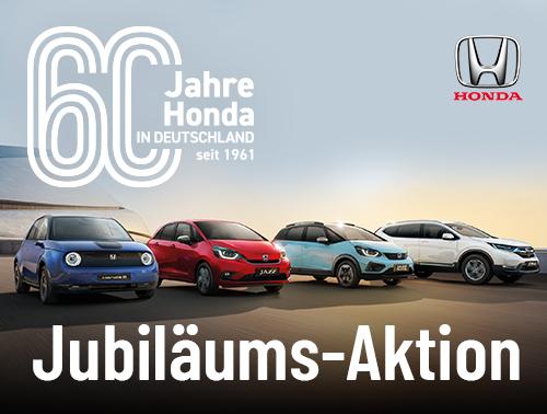 60 Jahre Honda: Jubiläums-Angebote!