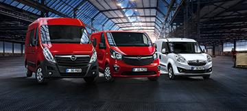 Nutzfahrzeug-Angebote Opel